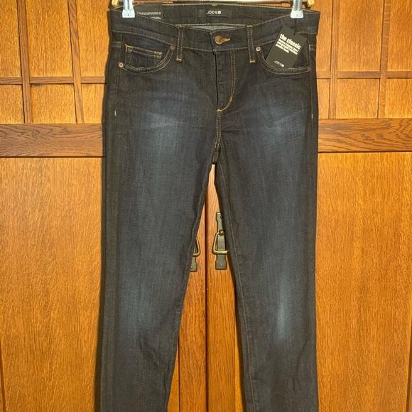 Joe's Jeans Denim - Joes straight leg dark denim jeans.